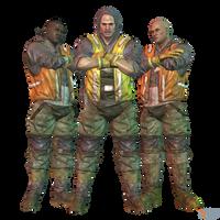 BAK - Two Face Thugs (Pack II) by MrUncleBingo