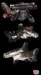 The Depth - Hammerhead Sharks by MrUncleBingo