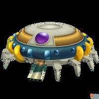DBFZ - Freezer Spaceship by MrUncleBingo