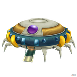 DBFZ - Freezer Spaceship