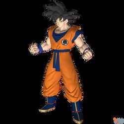 DBFZ - Goku (UPD.) by MrUncleBingo