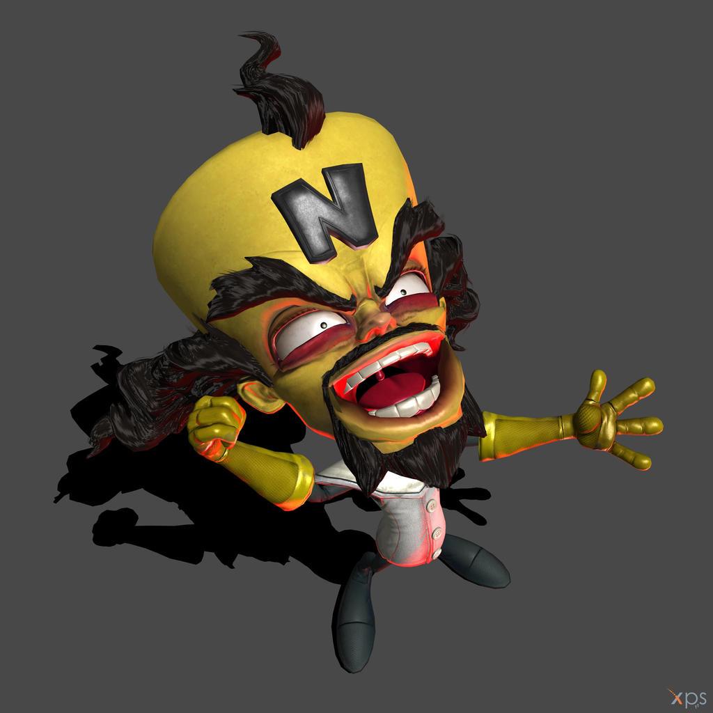 W.I.P - The XPS N.Sane Crash Bandicoot Models by MrUncleBingo