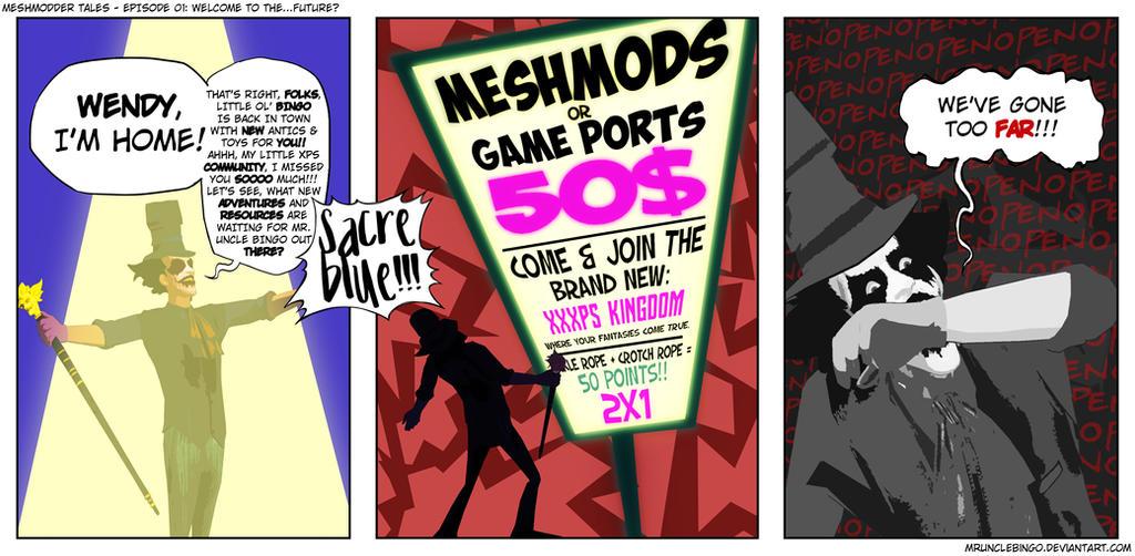 Meshmodder Tales - Episode 01