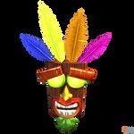 Crash Bandicoot (NST) - Aku Aku