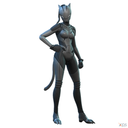 Fortnite - Lynx (Phase 4) by MrUncleBingo