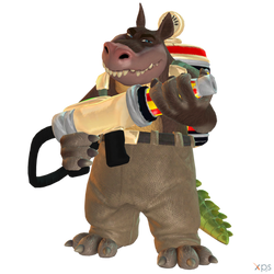 Crash Bandicoot (NST) - Dingodile by MrUncleBingo