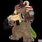 Crash Bandicoot (NST) - Dingodile