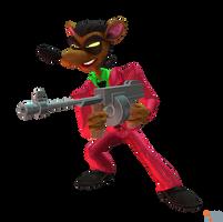 Crash Bandicoot (NST) - Pinstripe Potoroo