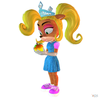 Crash Team Racing (NF) - Coco Bandicoot (Princess) by MrUncleBingo