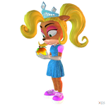 Crash Team Racing (NF) - Coco Bandicoot (Princess)