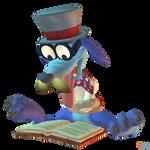 Crash Bandicoot (NST) - Ripper Roo (CB2) by MrUncleBingo