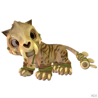 Crash Team Racing (NF) - Pura (Prehistoric)