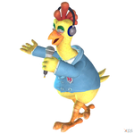 Crash Team Racing (NF) - Chick