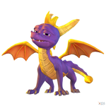 Crash Team Racing (NF) - Spyro The Dragon