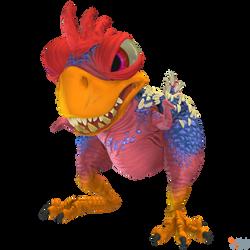 Crash Team Racing (NF) - King Chicken