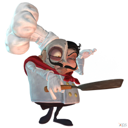 Crash Team Racing (NF) - Dr. N. Gin (Master Chef)