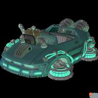 Crash Team Racing (NF) - Probulot 2000 Kart