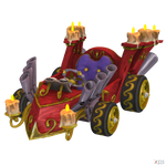 Crash Team Racing (NF) - Organ Grinder Kart by MrUncleBingo