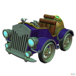 Crash Team Racing (NF) - Nautilus Kart by MrUncleBingo