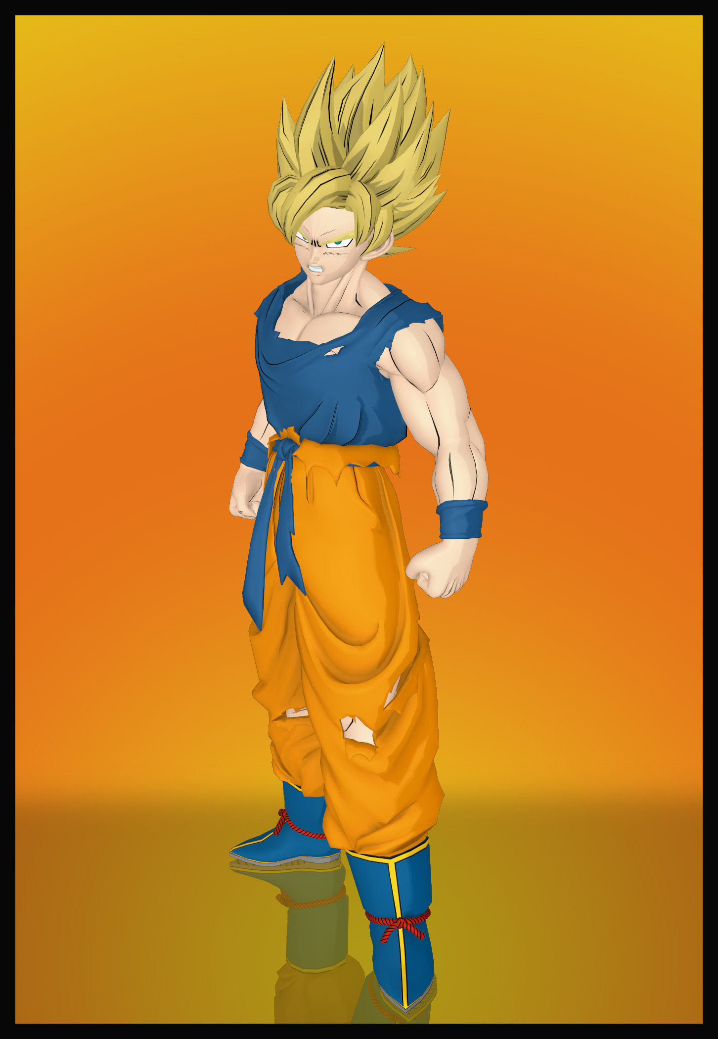 Dragon Ball Z Kakarot Son Goku Ssj1 Suit 01 By Mrunclebingo On Deviantart