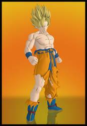 Dragon Ball Z: Kakarot - Son Goku (SSJ1) (Suit 02)