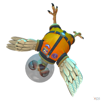 Crash Team Racing (NF) - King Chicken (Astronaut)