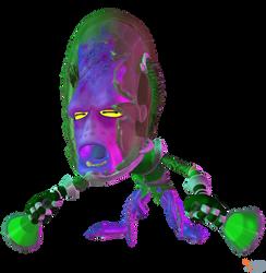 Crash Team Racing (NF) - Dr. Nitrus Brio (Octopus)