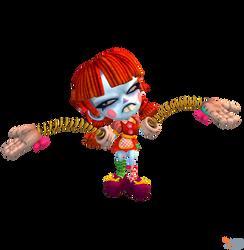 Crash Team Racing (NF) - Nina Cortex (Ragdoll)