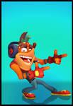 Crash Bandicoot 4 (I.A.T) - Crash (Gamer)