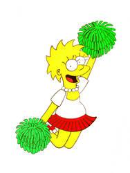 Lisa cheerleader 2 by Shagggy1987