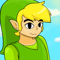 Toon Link Doodle by Kirionic
