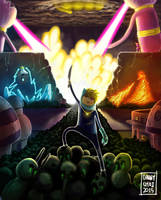 Adventure Time - War by vegatank