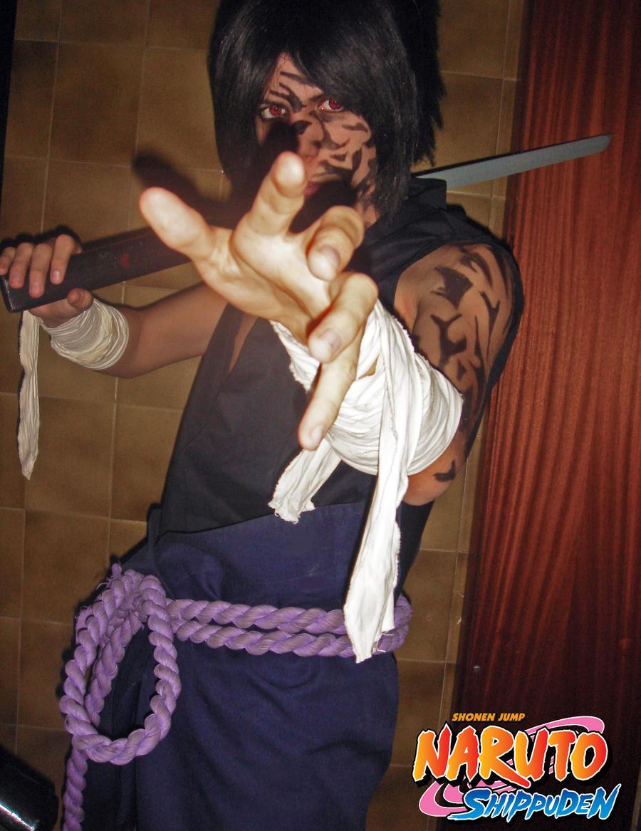 Sasuke Uchiha Kirin Uchiha sasuke kirin cosplay~
