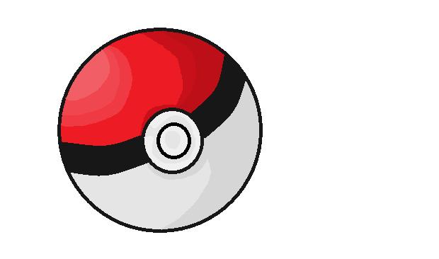 how to draw pokemon ball
