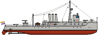 Janette Class Gunboat by Panzerbyte