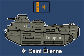 Saint Etienne Medium Tank by Panzerbyte