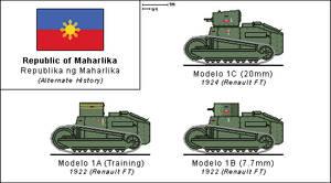 Maharlikan Modelo 1 Light Tanks by Panzerbyte