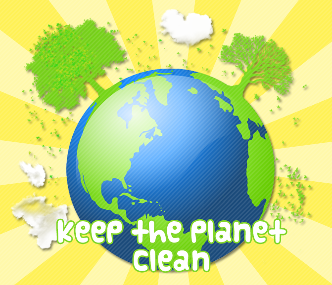 how to keep our planet clean