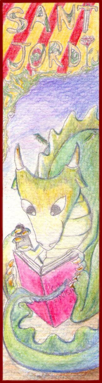 Sant Jordi-Book point by kuneyashi