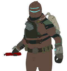 Dead space colored by cor955