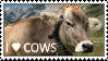 I Love Cows Stamp by Piepaws