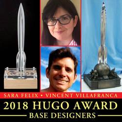 Hugo base designer for 2018 Hugo by sillysarasue