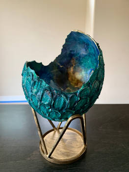 Cosmic Green Dragon Egg