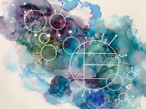 20x24 space piece