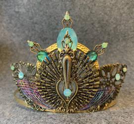 Peacock Tiara