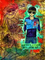 The Book Store Rat by FelixMendoza