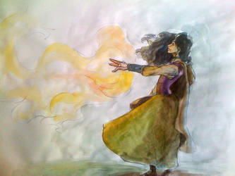 fire dance by Calithica