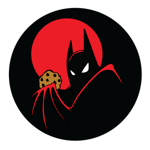 Batman and his cookie