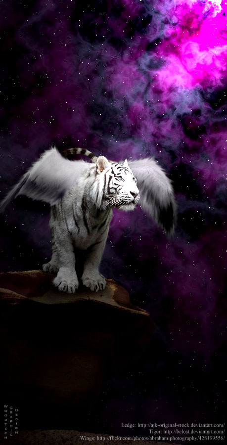 Winged tiger by onefool on deviantart winged tiger by onefool thecheapjerseys Gallery