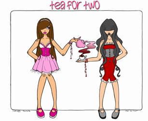 Tea for Two by StarlightxDreamer